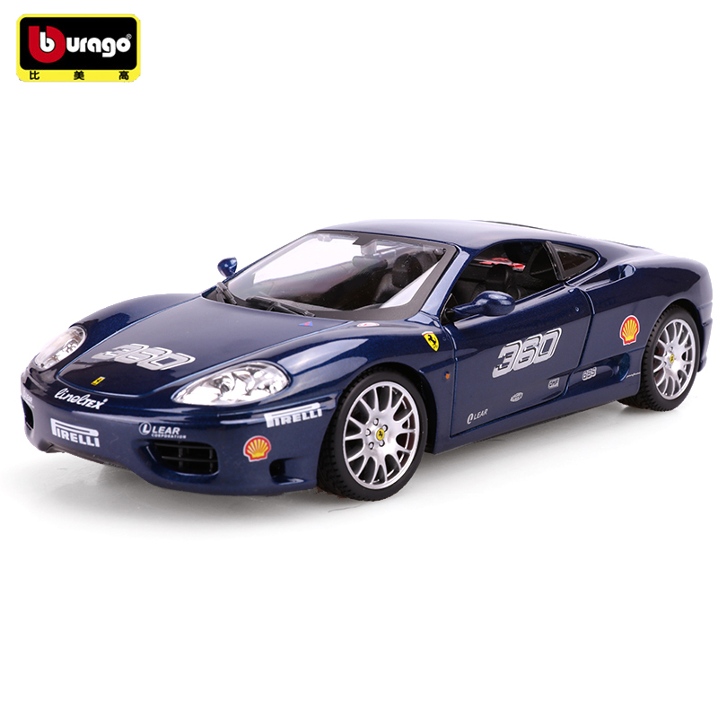 Bburago 360 ChALLENGR 1:24 Alloy Car Model Toys Diecasts & Toy Vehicles Collection Kids Toys Gift bburago 360 challengr 1 24 alloy car model toys diecasts