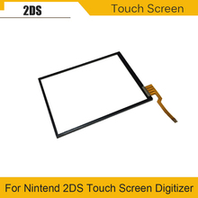 Touch Screen Digitizer for Nintend 2DS Touch Screen Digitizer Pad Spare Pad For 2DS Game Console model hm 7420 hm 7421 touch pad touch pad
