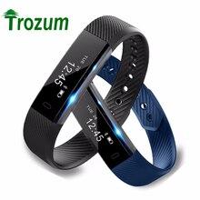 TROZUM ID115 Смарт Браслет Спорт Шагомер Фитнес-Трекер Сна Монитора Bluetooth Браслет 4.0 Smartband Для IOS Android