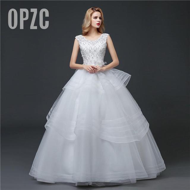 High Quality Real Photo Girls Clssic Wedding Dress 2017 Spring ...