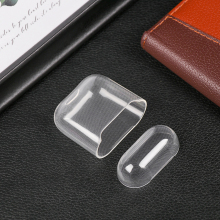 New Split Ultra Thin Silicone Case TPU Transparent Storage Sleeve Protective Cover Wireless Bluetooth Headset Case For Airpods