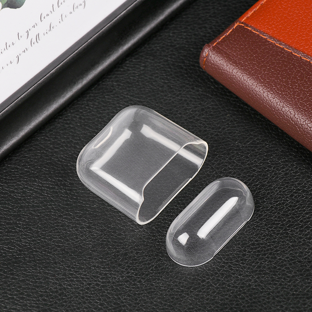 New Ultra Thin Silicone Case TPU Transparent Storage Sleeve Protective Cover Wireless Bluetooth Headset Case For Airpods
