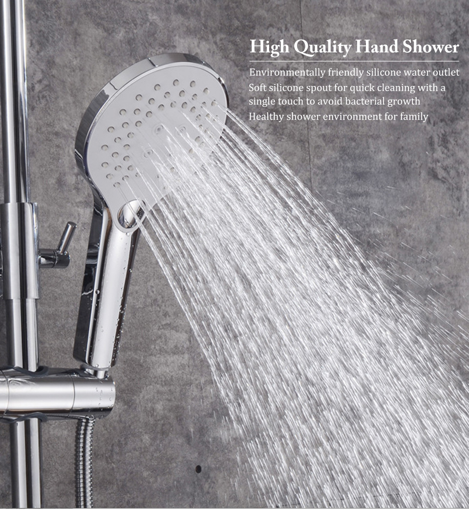 2019 Handheld Shower Head New Multifunctional 3 Speed Matte Scrub Black Plated Pressurized Water Saving Showers From Hymen 27 08 Dhgate Com