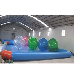 Fast delivery high quality inflatable ball pool inflatable pool with a pvc ball