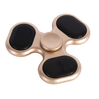 New Fidget Spinner Bluetooth Speaker TF Card Hand Spinner Funny Finger Spinner EDC Figet Spinner Anti