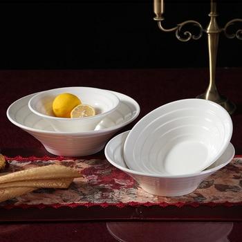 Creative ceramic bowl salad bowl dessert bowl of fruit bowl bowl bowl white ice cream dessert snack bowl of ice cream bowl фото