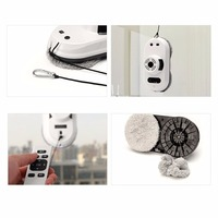 Inside Outdoor High Tall Window Cleaning Robot Intelligent Cleaner Strong Adsorption Automatic Floor Wall Cleaning Tool