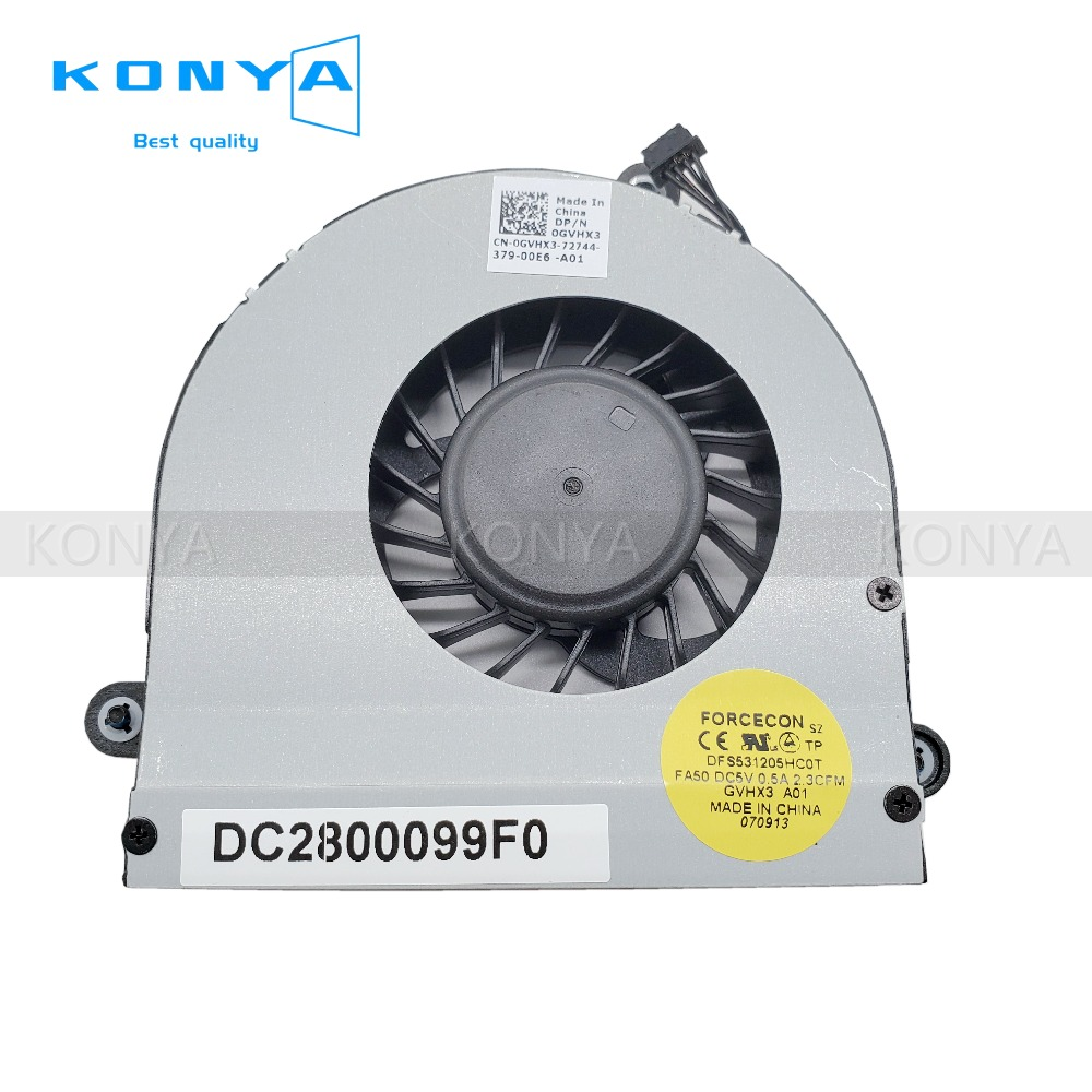 Computer Components Search For Flights New Original For Dell Alienware M17x R3 R4 Cpu Cooling Fan Gvhx3 0gvhx3 Dfs531205hc0t Dc2800099f0 Special Buy