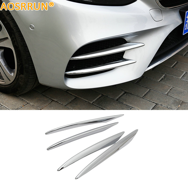 AOSRRUN ABS Front Bumper Guard Cover Car Accessories For