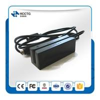 Portable 3 tracks Usb Cheap Magnetic Card Reader + free SDK HCC750