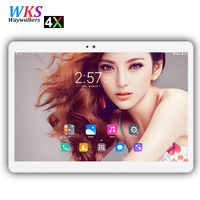 Free Shipping 10 Inch Phablet Android 7 0 10 Core 4GB 64GB 1920 1200 IPS Dual