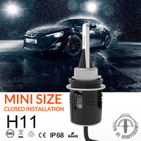 OCSION Car Headlight LED Bulb H11 H8 H9 Auto Lights 6000k 12v 48w 7200lm Fog Light