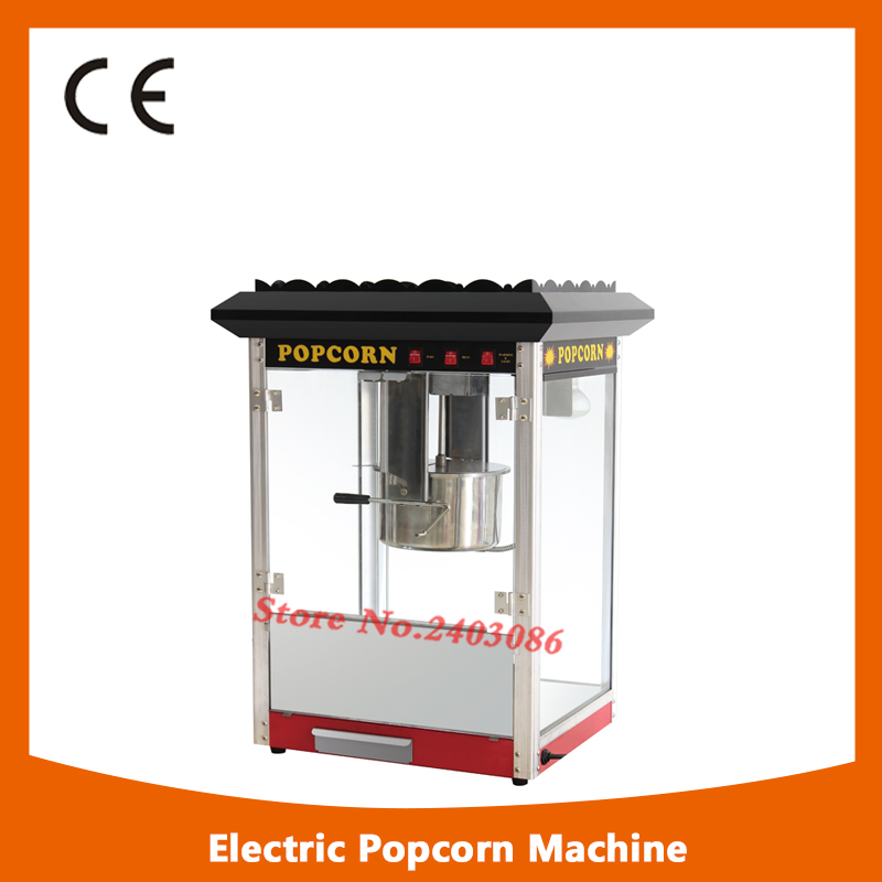 high efficiency buffet equipment 80z hot air Electric Automatic Sweet Theater kettle Popcorn making Machine With CE fast food equipment automatic use popcorn machines for sale high quality use popcorn machines for sale caramel popcorn machine