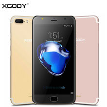 XGODY D11 5.5″ 3G Smartphone Android 5.1 MTK6580 Quad Core 1GB RAM 16GB ROM 1280*720 HD 8MP Dual SIM Mobile Cell Phones GPS WiFi