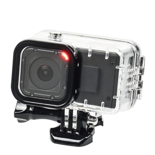 GoPro Session Продлить Батареи 1050 мАч Аккумулятор + GoPro Hero 4 Session Водонепроницаемый корпус Дело Box Для GoPro Аксессуары