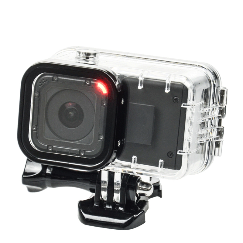 Suptig For GoPro Session Extend Battery 1050 mAH Backup Battery+Hero 4 Session Waterproof housing Case Box For GoPro Accessory gopro набор д замены защ линзы кам session arlrk 001