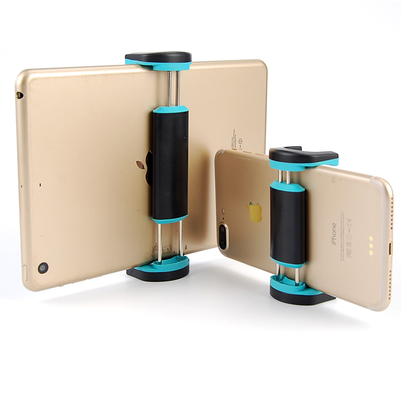 4.5-9.7 Inch Pau de Selfie for Ipad Mini/air tablet Pad Phone For Most phone and mini pad Stand holder Clip Selfie Stick louane pau