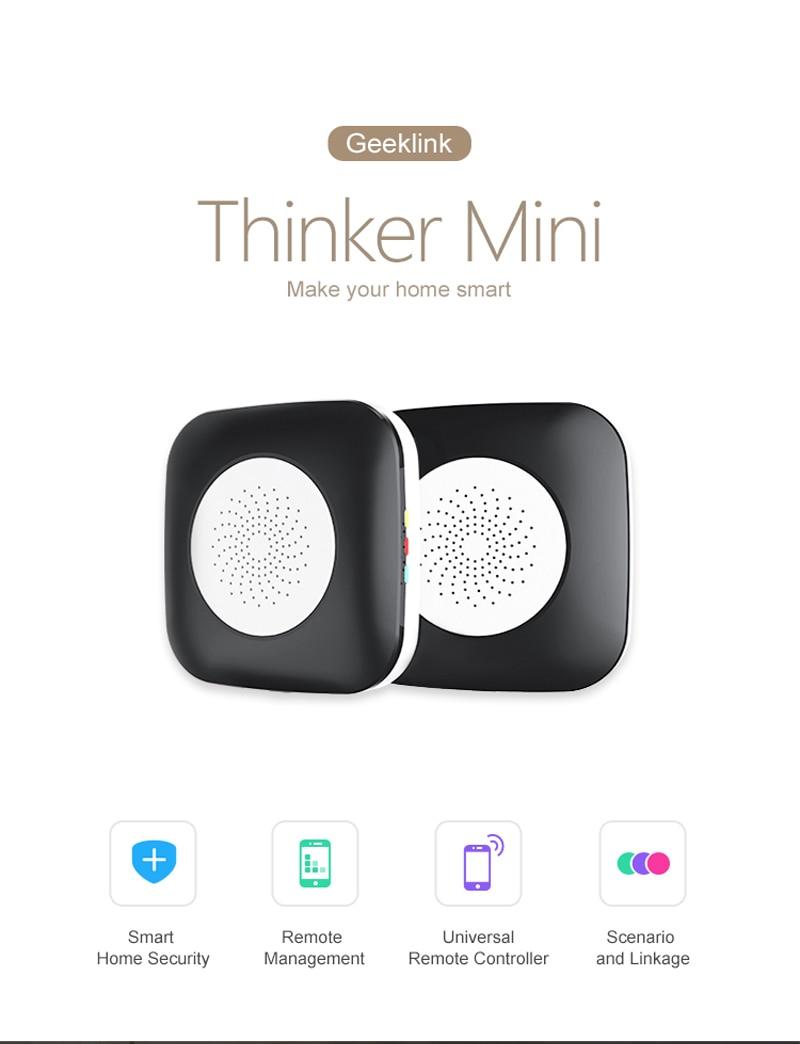 Geeklink Mini Pensador Controlador de Casa Inteligente Controle