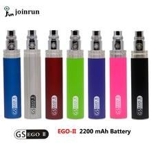 Nuevas Adquisiciones de Gran Capacidad 2200 mah EGO 1 semana Batería Para ego II ego-ii Ego cigarrillo electrónico/510 Hilo Batería de Múltiples Colores