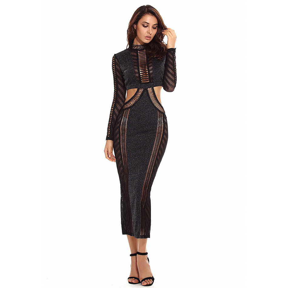 2019 New Arrivals Summer Long Dresses Long Women Dresses Sexy Club Maxi Celebrity Nightclub Evening Party