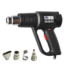 Hot Air Gun Handheld Car Foil Bake Gun Tool Drying Gun Industrial Hot Hair Dryer Shrink Film Thermostat GS-820T цена в Москве и Питере