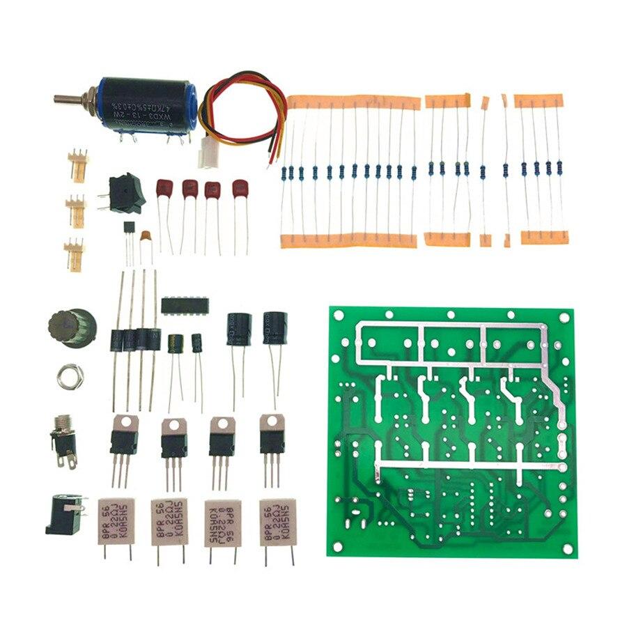 DIY LM324 Elektronische Last Power 150 Watt Einfache Elektronische Last Kit 72V2A/15V10A