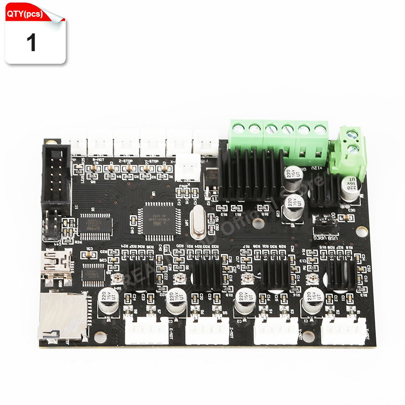 2017 Updated 3D Printer Control Motherboard for Creality Cr 10 3D Printer Motherboard Control Broad