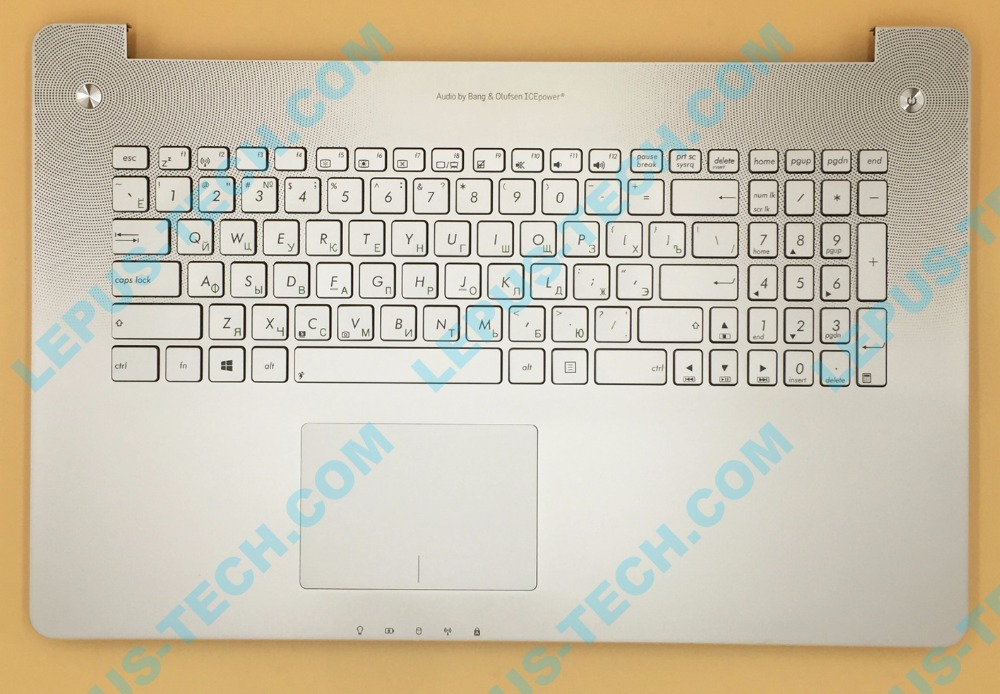 RU Keyboard for ASUS N750 N750JK N750JV with top case palmrest R layout