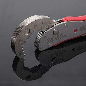 Image 4 - KALAIDUN clé multifonction ajustable, douille à cliquet, couple 9 à 45mm, clé universelle, clé magique pour jeux de clés, outils manuels de réparation pour la maison