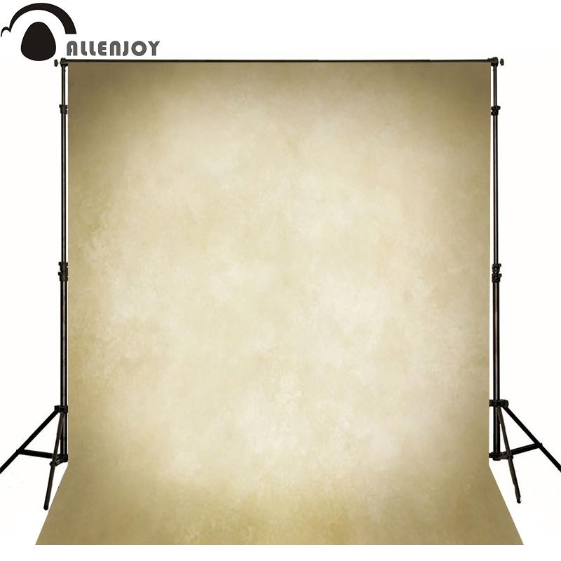 Allenjoy Thin Vinyl cloth photography Backdrop yellow Children Wedding Baby Background Photo Studio Decor Backgrounds MH-002