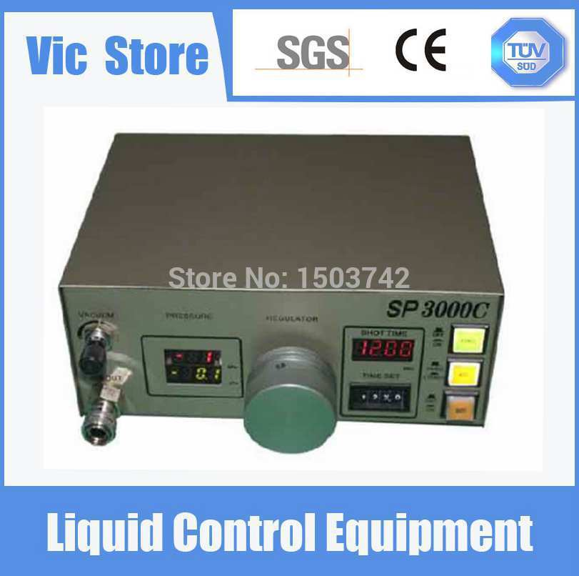 220V Auto Glue Dispenser Solder Paste Liquid Controller Dropper SP3000C Dispensing Machine 220v auto glue dispenser solder paste liquid dropper ad 982 dispensing controller machine
