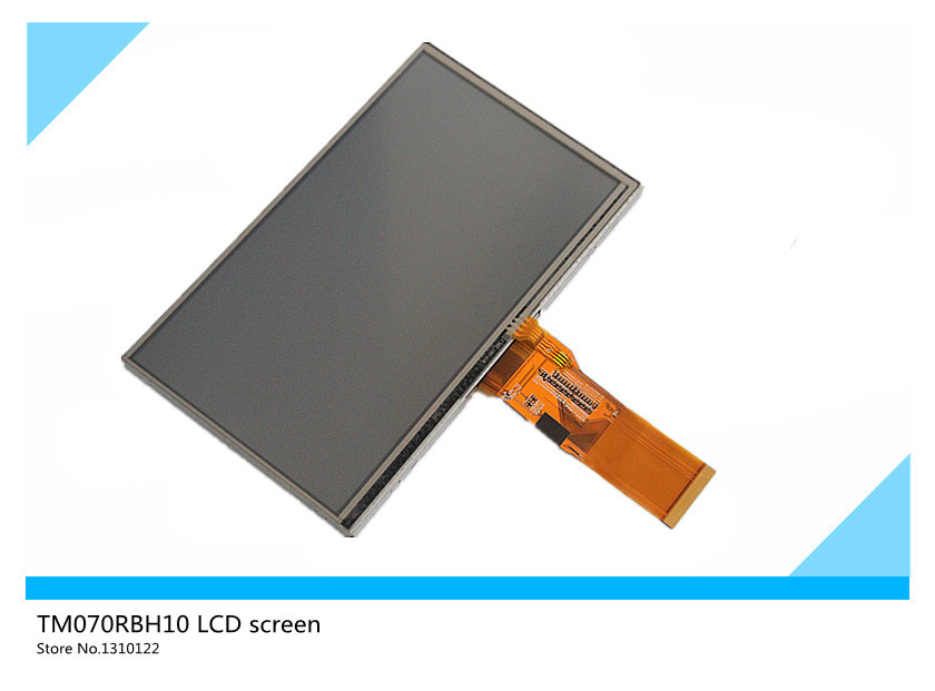 7 inches TFT TM070RBH10 LCD screen, touch screen replacement for the MP4 PMP MID Tablet PC UMPC car DVD navigation