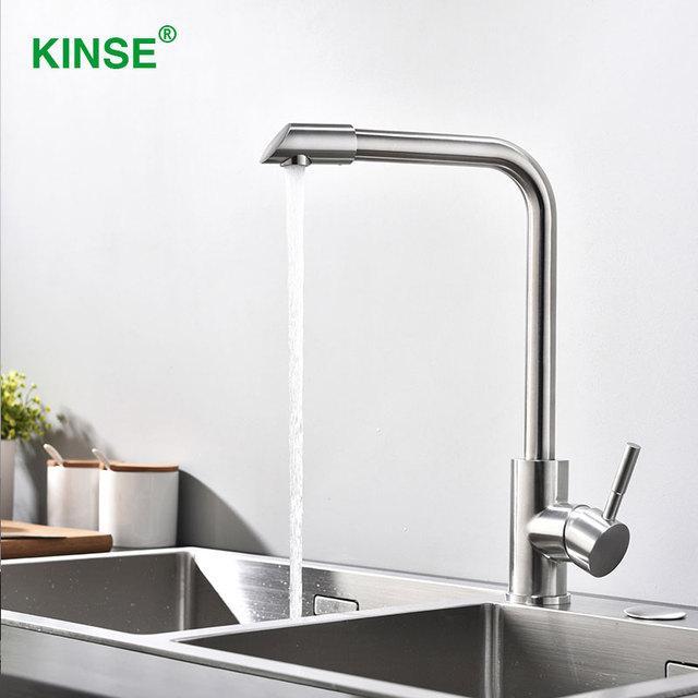 Aliexpresscom Buy Kinse High Quality Stainless Single Hole Single