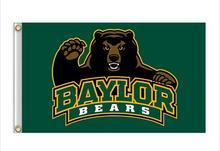 Baylor Bears Flag 3ft x 5ft Polyester NCAA Baylor Bears Banner   Flying Size  No.4 150* 90cm