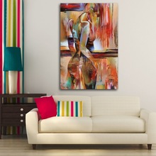 Wall Art Canvas Painting Fashion Model Girl Nordic Pictures For Living Room Home Decor Posters And Prints Salon Bedroom Kid