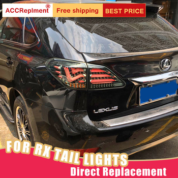 New LED Taillights Assembly For Lexus RX450H 2010-2015 LED Rear Lamp Brake Reverse Light Rear Back Up Lamp DRL Car Tail lights