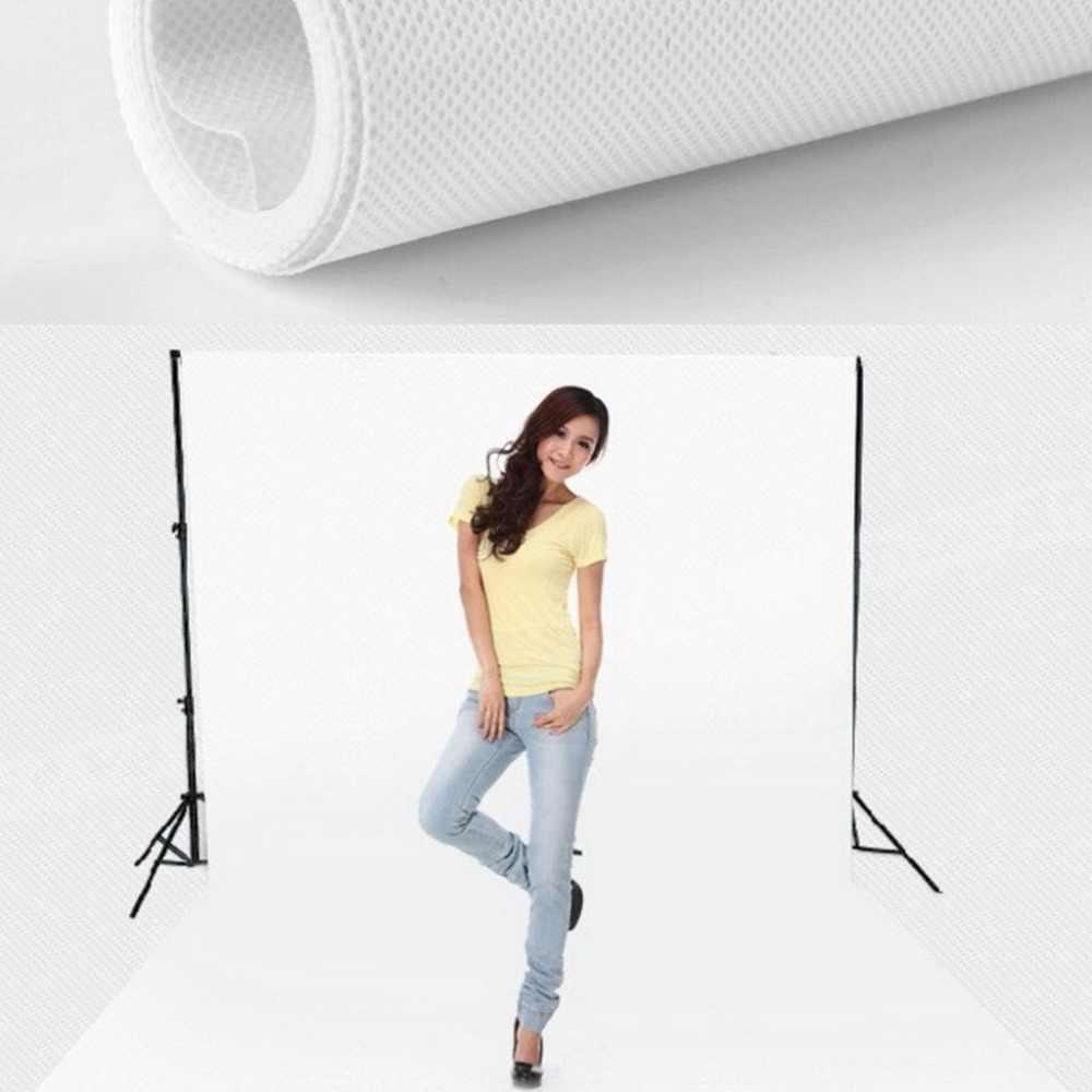 100*160 Cm Bukan Tenunan Foto Backdrop Latar Belakang Layar Kain Kain Bukan Tenunan Hitam untuk Studio Fotografi Video Shooting dan TV