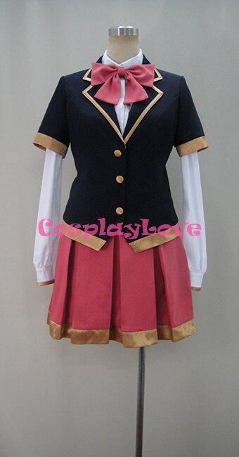 Akuma no Riddle Sagae Haruki School Uniform font b Cosplay b font Cloak Halloween Costumes For