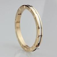 WLB0067 Free Shipping For Women Bangle Open Style Gold Class Style Steel Bracelet Men Women Bangles