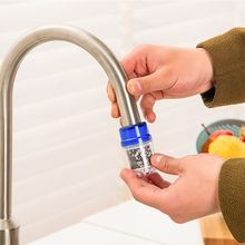 Mini Water Filter Carbon Home Household Kitchen Faucet Tap Filter Water Clean Purifier Cartridge Bath Faucet Tap Accessories