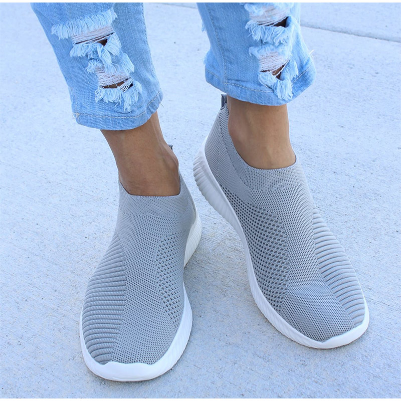 HTB1SwFAaffsK1RjSszbq6AqBXXah - Women Sneakers Fashion Socks Shoes Casual White Sneakers Summer knitted Vulcanized Shoes Women Trainers Tenis Feminino