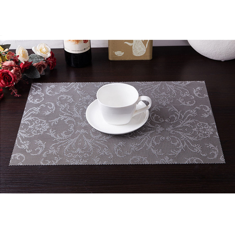 10PCS New High-quality Printing restaurant kitchens Placemats Insulation Mats Table Coasters Dining Sales