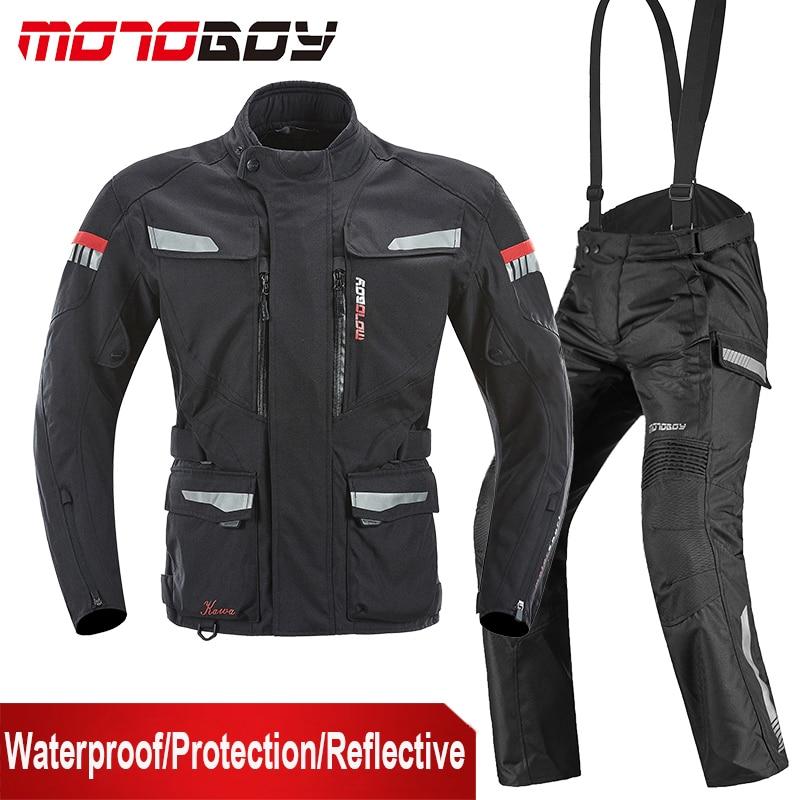 MOTOBOY Moto vestes Moto imperméable veste de course équipement de protection hiver Moto veste hommes Moto vêtements