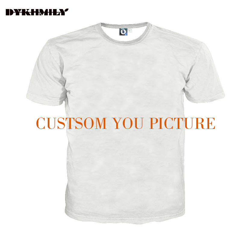 Dykhmily custom 3d full print t shirt men o neck best for Full size t shirt printing