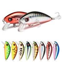 1 stücke 4,5 cm 4,1g mini Minnow Harten Köder Angeln Köder Aritificial Japan Harten köder Köder Trout bass karpfen angeln