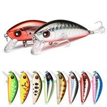 1 sztuk 4.5cm 4.1g mini Minnow twarda przynęta przynęta na ryby Aritificial japoński wobler Bait pstrąg bass carp fishing