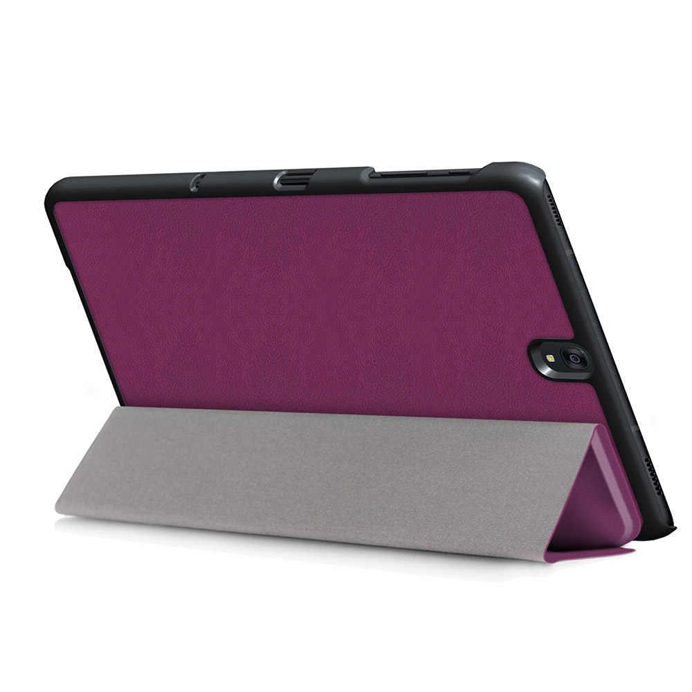 Voor Samsung Galaxy Tab S3 9.7 Case Tri-Vouwen PU Lederen Auto-Slaap Case voor Samsung Tab S3 9.7 T820 T825 Tablet + Stylus Pen