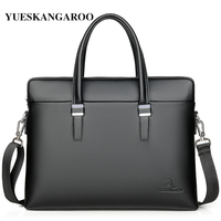 2019 New Fashion Shoulder Bag Men Briefcase A4 PU Leather Men Bags Business Laptop Tote Luxury Brand Male Briefcases Handbags
