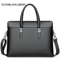 bc47e7948040d ... Evrak çantaları omuz çantası erkek askılı. Teklifi Göster. 2019 New  Fashion Shoulder Bag Men Briefcase A4 PU Leather Men Bags Business Laptop  Tote ...
