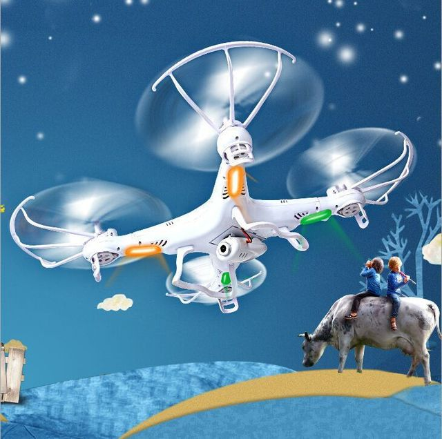 100% Original Syma RC Drone X5C Remote Control Helicopter with HD Camera 2.4G 4Channel RC Quadcopter Free shipping